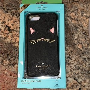 Kate Spade Cat Leather IPhone 7 Case